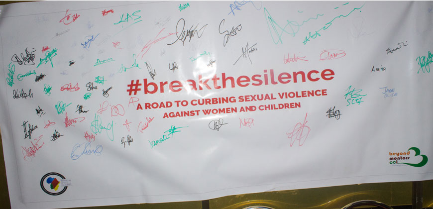 #breakingthesilence