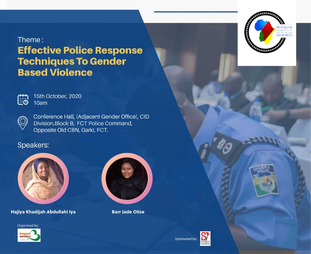 BMCCi, under the auspices of WCA partnered on a training program for Police officers in FCT